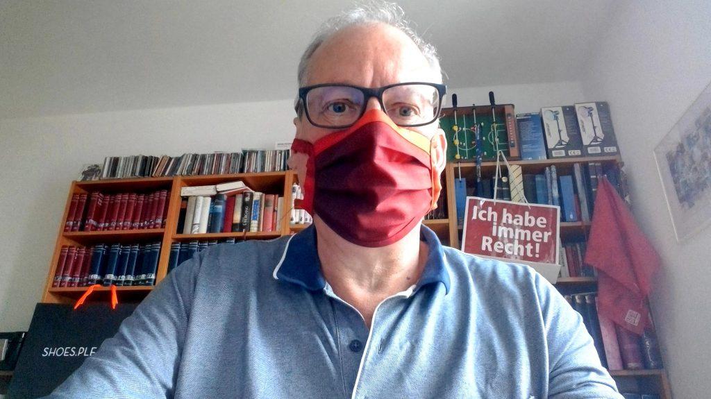 RA Schiler mit Maske